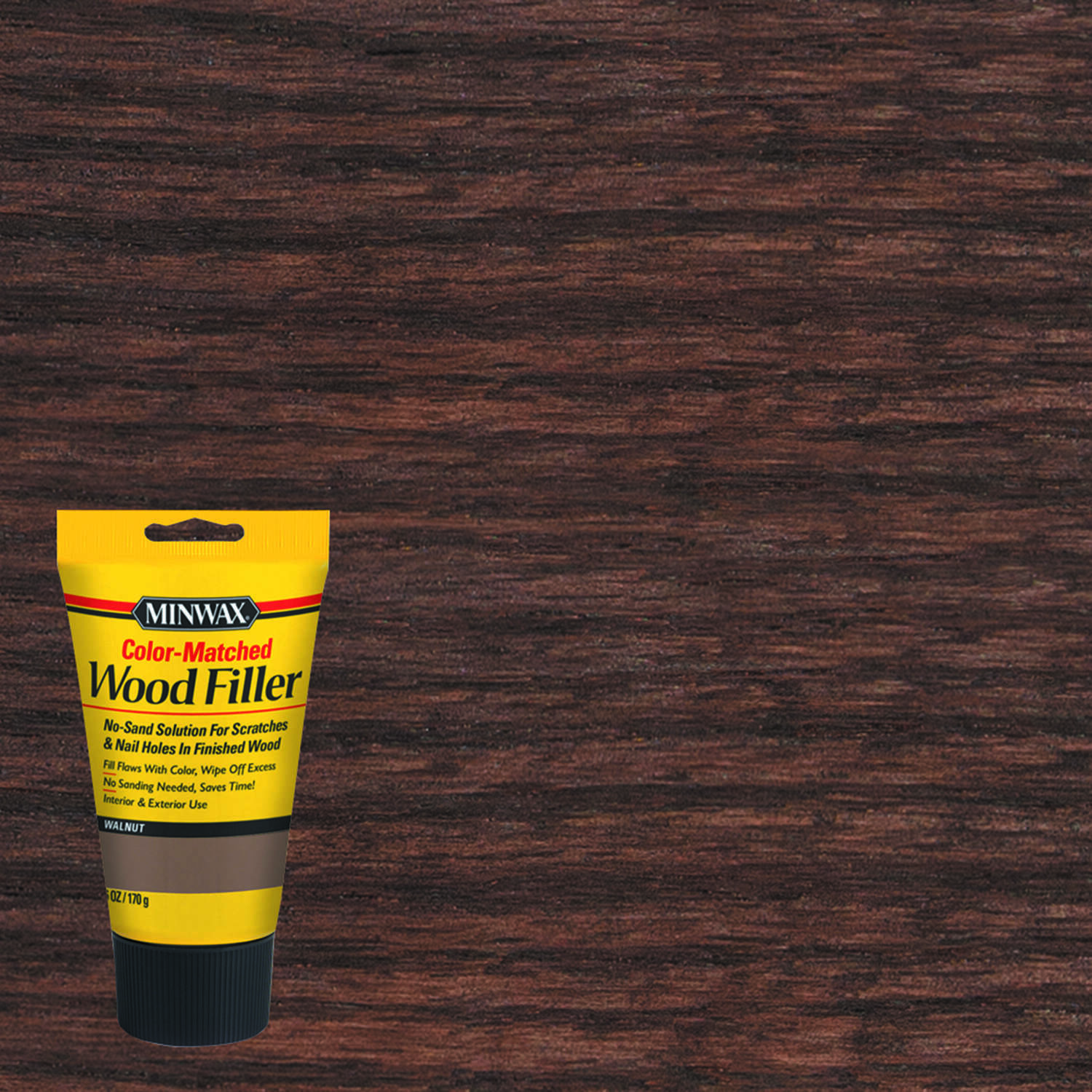 Minwax  Walnut  Wood Filler  6 oz.