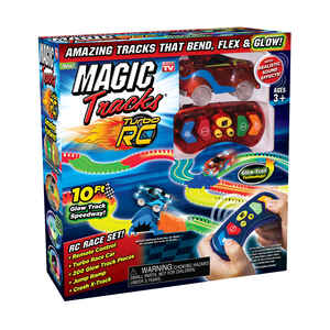 Magic Tracks  As Seen On TV  Glow Toy Race Track  Plastic