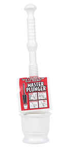 Master Plunger  18-1/2 in. L x 4 in. Dia. Bellows Plungers