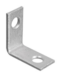 National Hardware  1 in. H x 1/2 in. W x 0.07 in. D Steel  Inside  Corner Brace