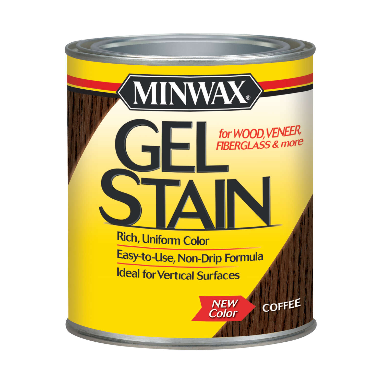 Minwax  Transparent  Low Luster  Coffee  Oil-Based  Gel Stain  1 qt.
