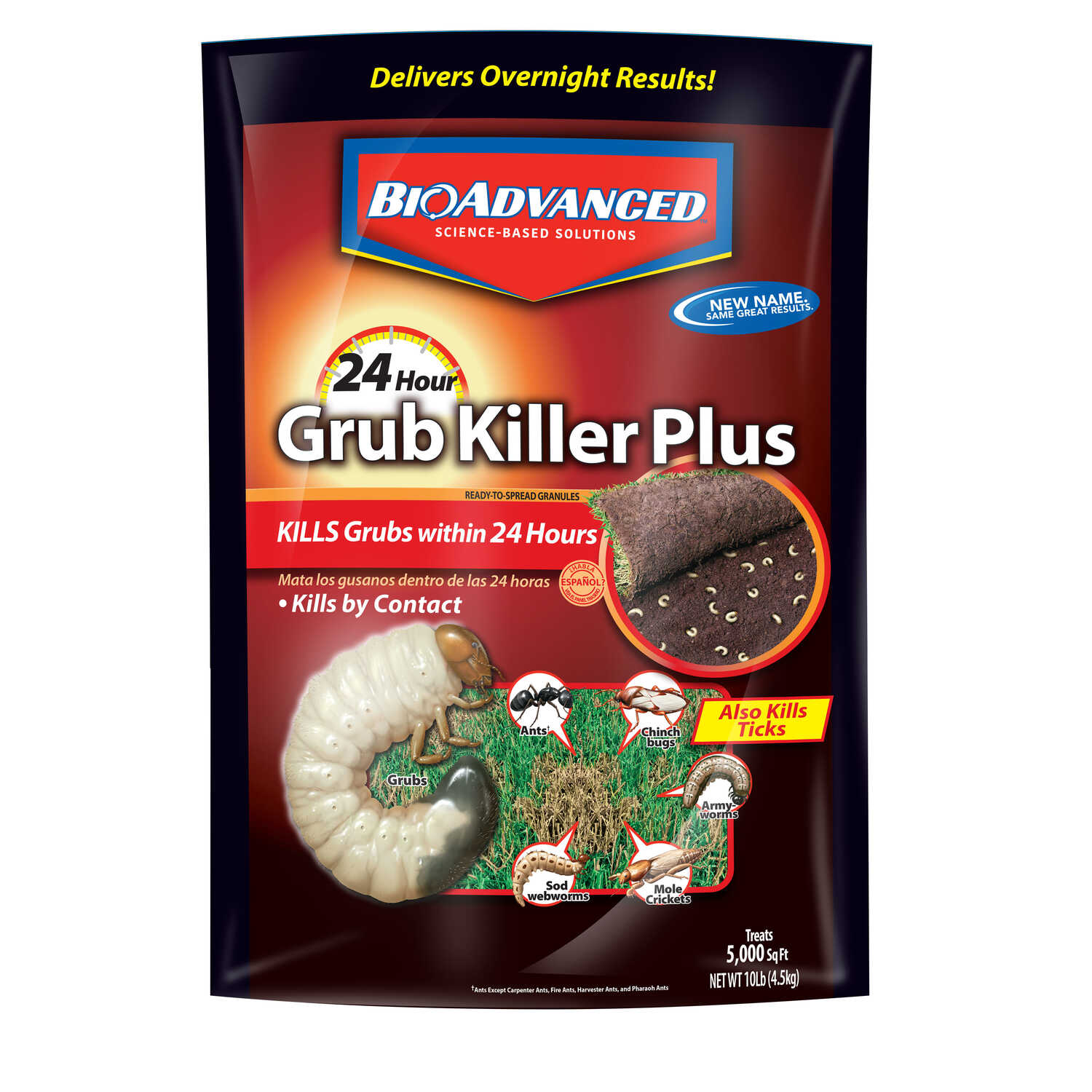 BioAdvanced  Grub and Insect Control  10 lb.
