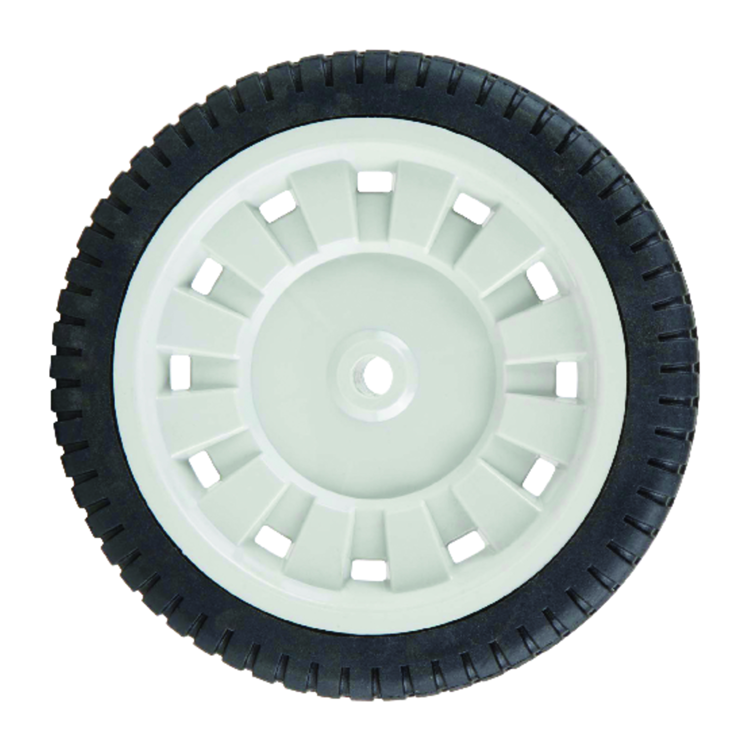 Arnold 1.75 in. W x 8 in. Dia. Lawn Mower Replacement Wheel 50 lb ...