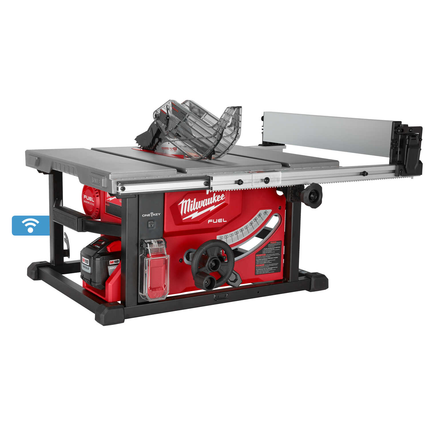 Milwaukee  M18 FUEL  8-1/4 in. Cordless  with One-Key  Table Saw  15 amps 18 volt 5800 rpm