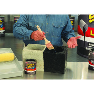 Flex Seal  Satin  Black  Liquid Rubber Sealant Coating  1 qt.