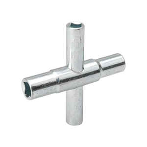 B & K  Steel  Water Key-Square Stems