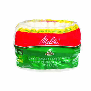 Melitta  6 cups Basket  Coffee Filter  1 pk