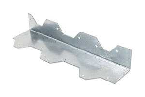 Simpson Strong-Tie  2.4 in. W x 9 in. L Galvanized Steel  L-Angle
