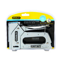 Stanley Heavy Duty 9/16 in. Staple Gun Silver