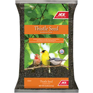 Ace  Assorted Species  Wild Bird Food  Thistle Seed  8 lb.