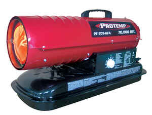 Protemp  1700 sq. ft. Diesel/Kerosene  Forced Air  Heater