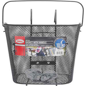 Bell Sports  Tote  Wire Mesh  Bike Basket  Black