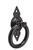 National Hardware  4-21/32 in. L Black  Steel  Ring Pull