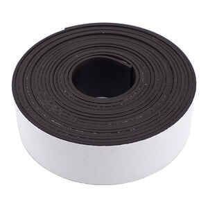 Master Magnetics  120 in. L x 1  W The Magnet Source  Black  Mounting Tape
