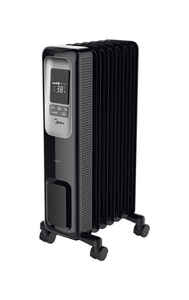 Pelonis  320 sq. ft. Electric  Digital Oil Fill Radiator  Portable Heater  1500 BTU