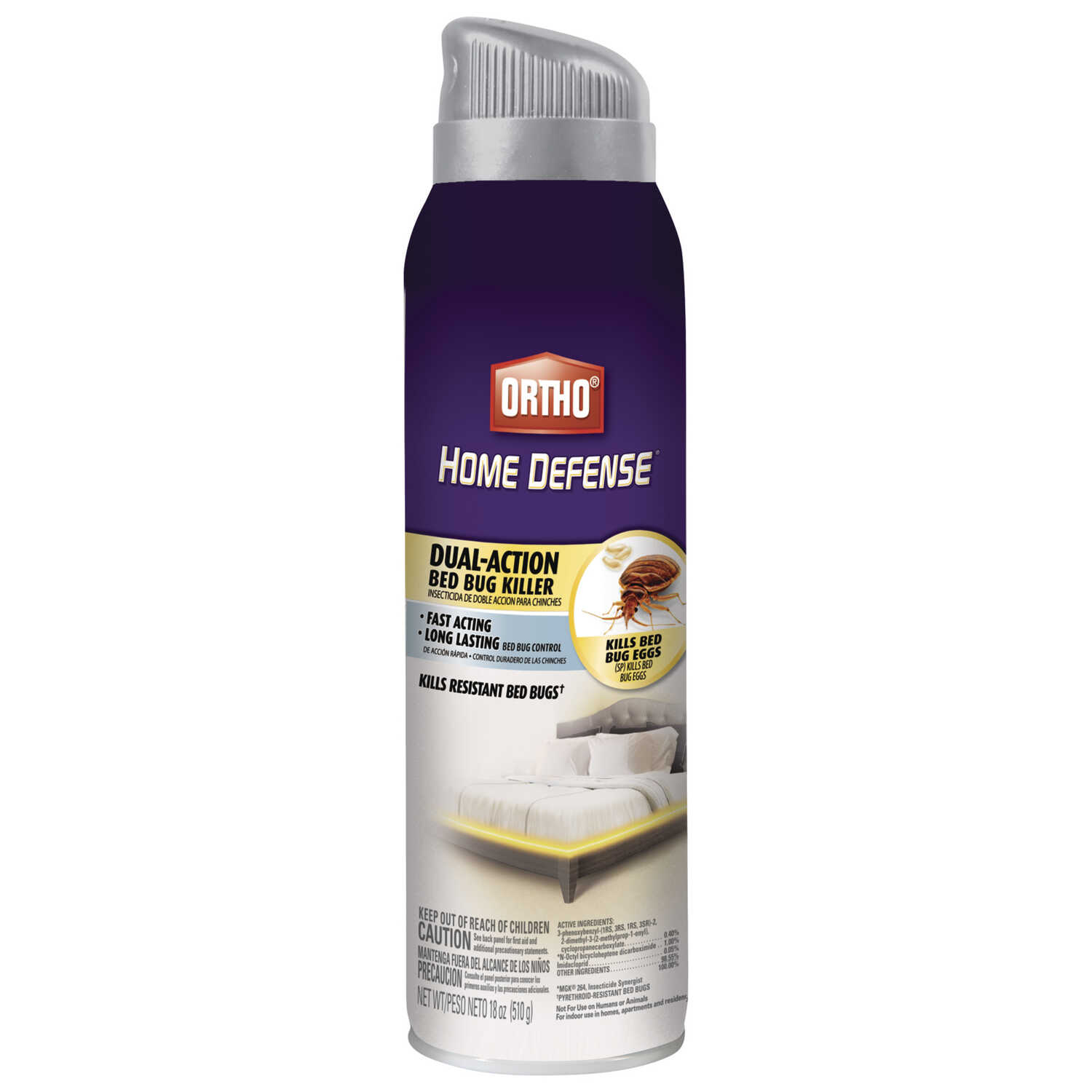 Ortho  Home Defense Dual-Action  Insect Killer  18 oz.