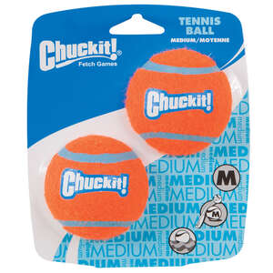 Chuckit!  Multicolored  Ball Launcher  Rubber  Tennis Balls  Medium