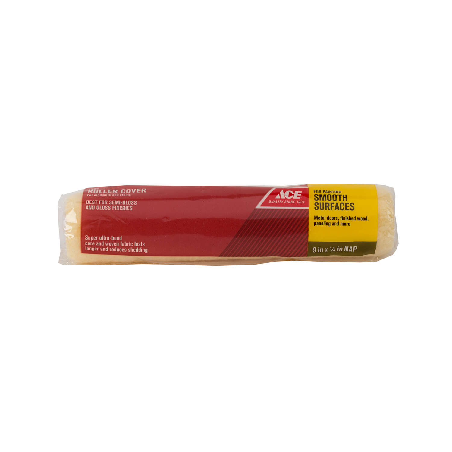 Ace  Knit  1/4 in.  x 9 in. W Regular  Paint Roller Cover  1 pk