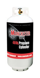 Manchester Tank  40 lb. Steel  Type 1  Propane Cylinder
