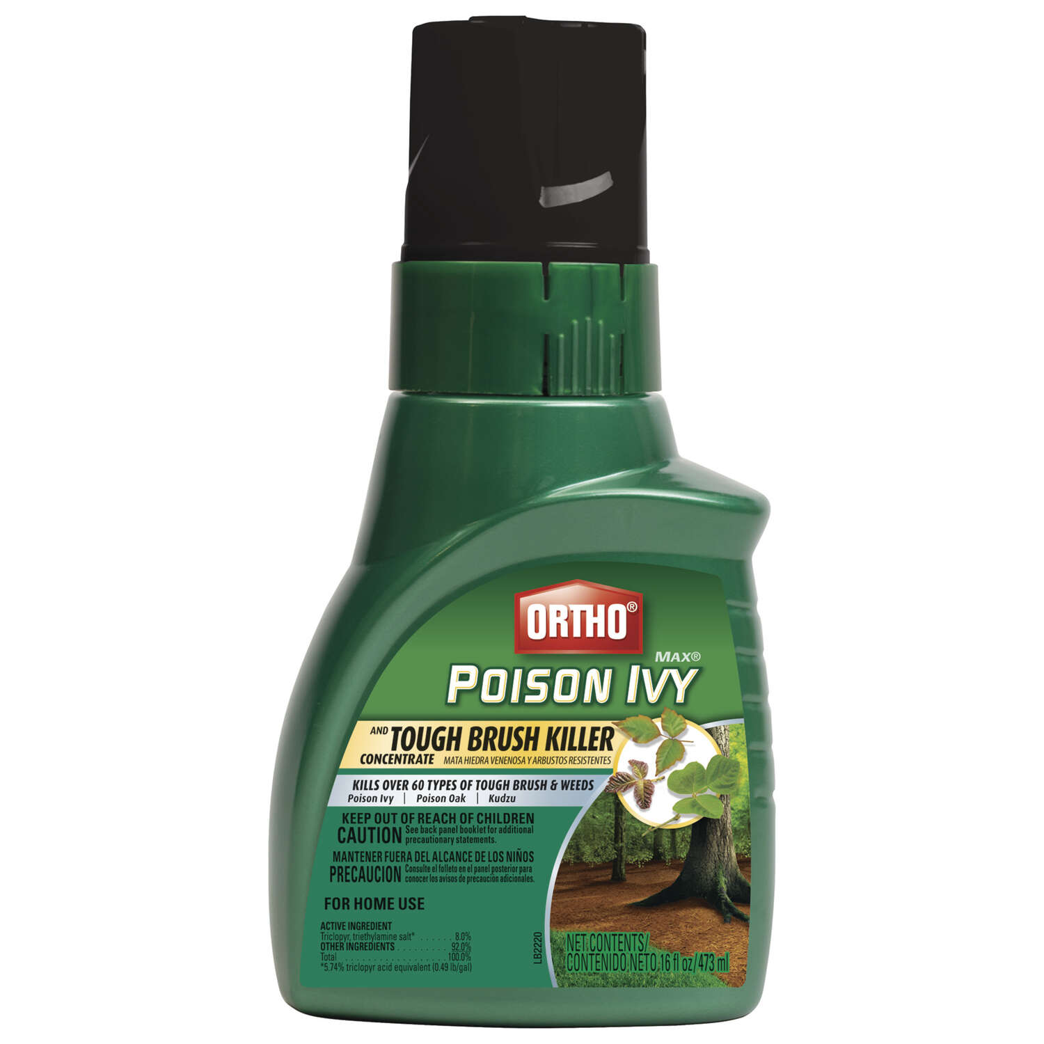 Ortho  MAX  Poison Ivy Plus Tough Brush Killer  Concentrate  16 oz.