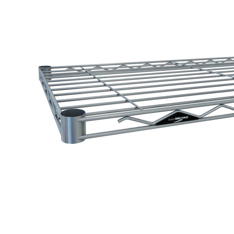 InterMetro  1.5 in. H x 48 in. W x 18 in. D Steel  Open-Wire Shelf