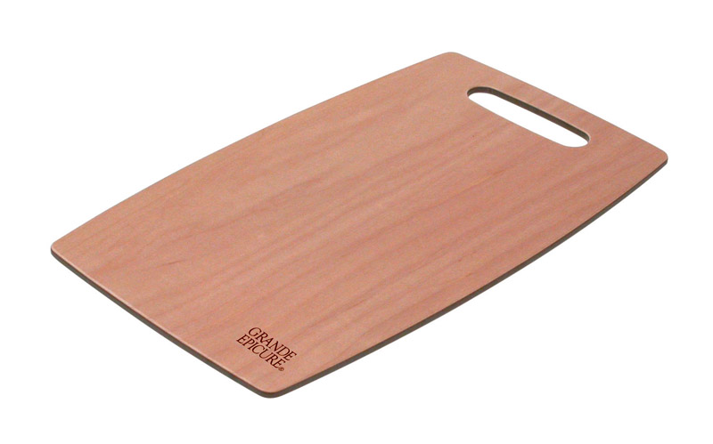 Snow River  9 in. W x 15 in. L Maple  Wood  Utility Cutting Board