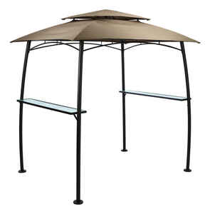 Living Accents  Polyester  BBQ Shelter w/Single Light  65 in. W x 85 in. L