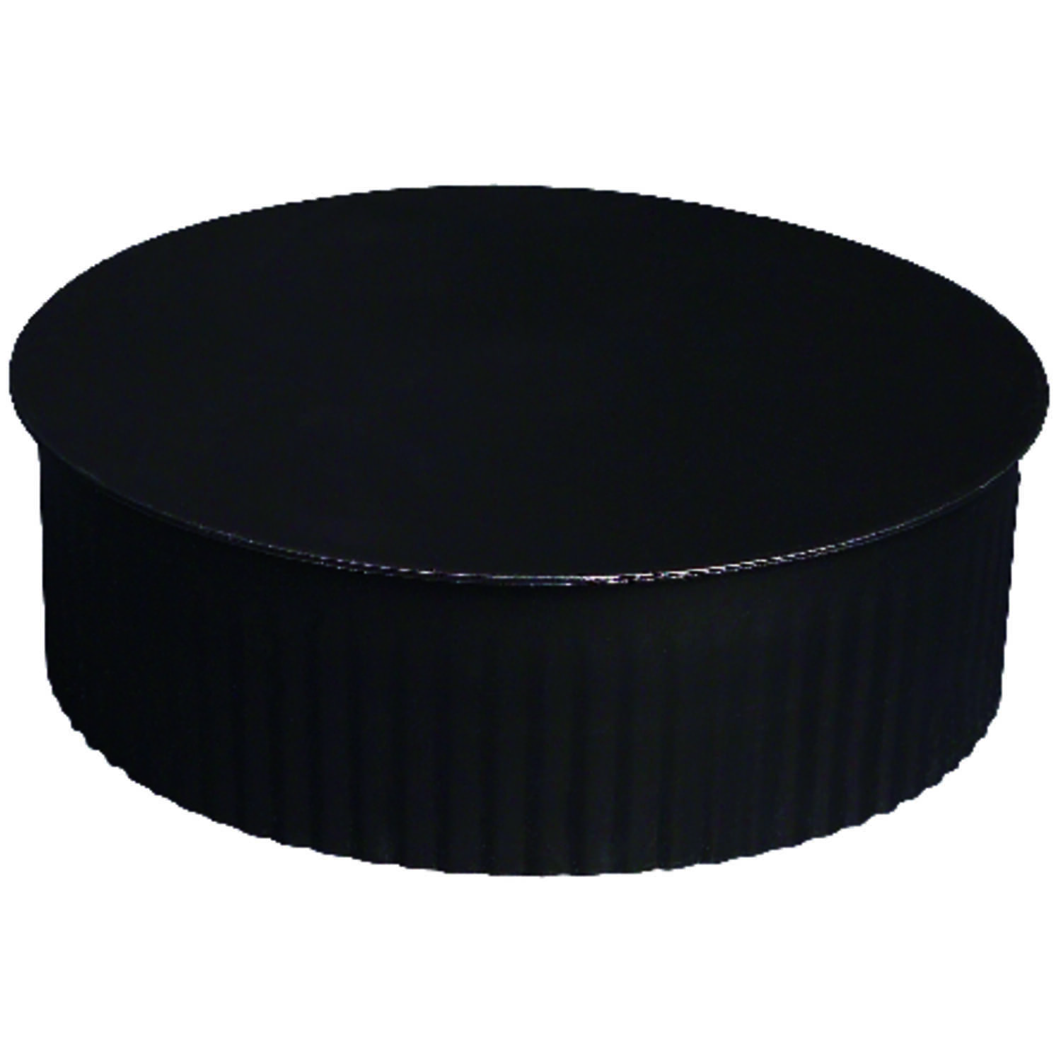 Imperial Manufacturing  7 in. Dia. Steel  Crimped  Termination Cap