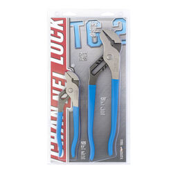 Channellock  6-1/2 & 10 in. Carbon Steel  Tongue and Groove Pliers