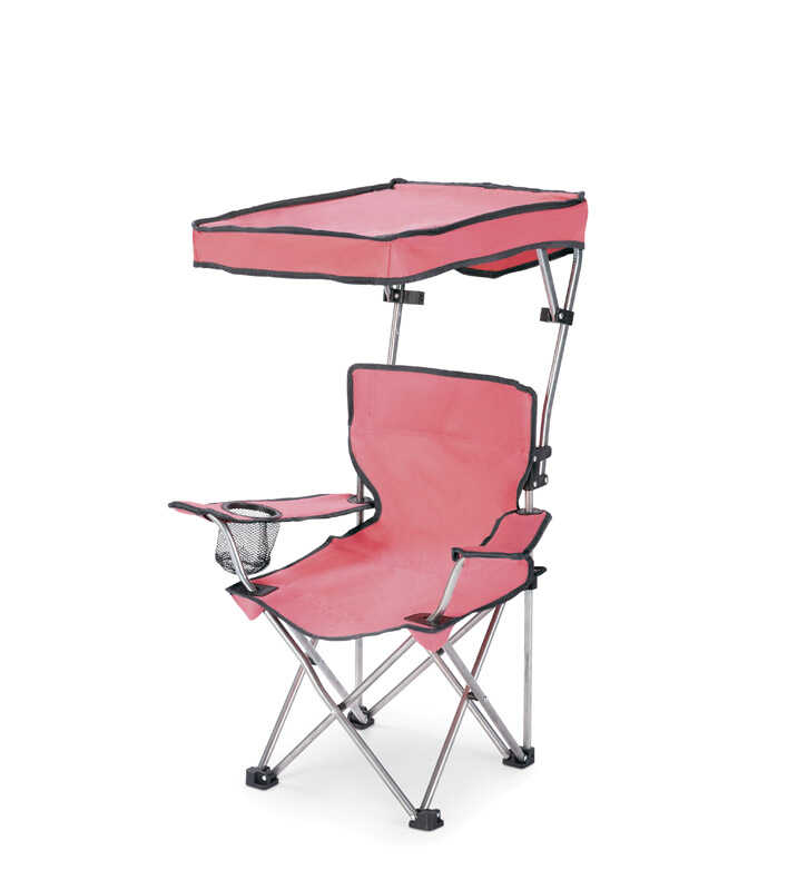 Wondrous Quik Shade Adjustable Pink Canopy Folding Kids Chair Ace Machost Co Dining Chair Design Ideas Machostcouk