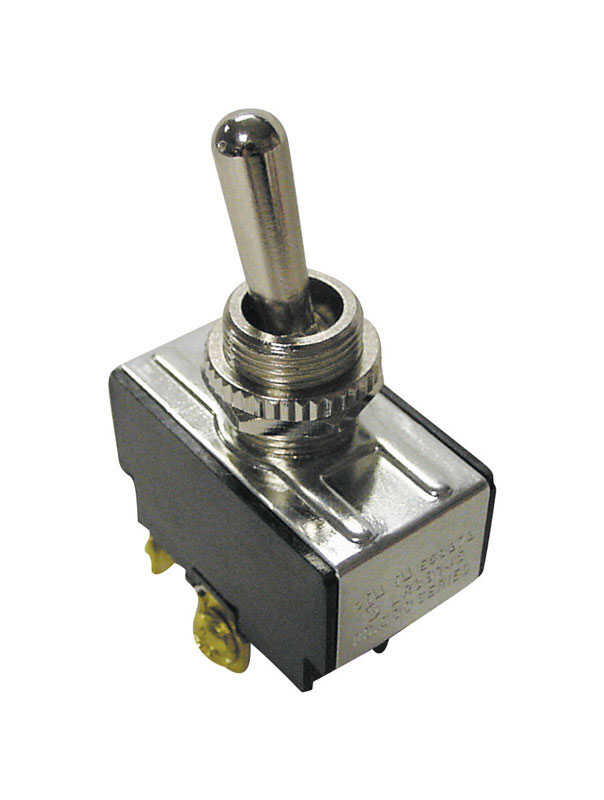 Gardner Bender  20 amps Single Pole  Toggle  Switch  Black/Silver  1 pk