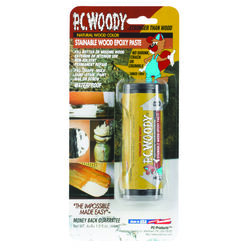 PC-Woody  Tan  Two Part Wood Epoxy Paste  1.5 oz