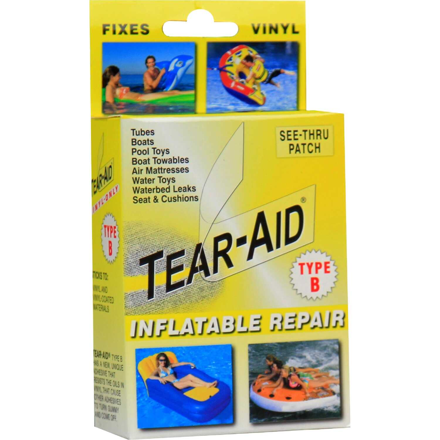 Tear-Aid  Patch Type B  Underwater Repair Patch Kit