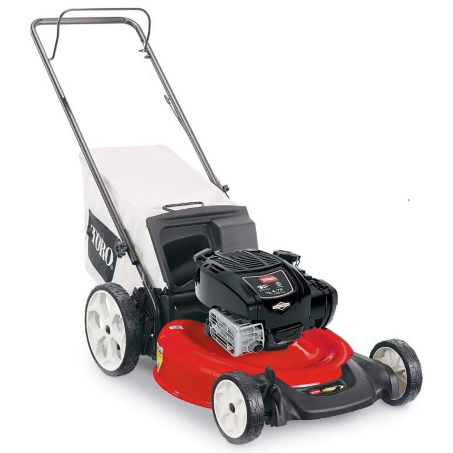 ... Array - toro 21 in w 163 cc manual push mulching capability lawn mower  rh acehardware