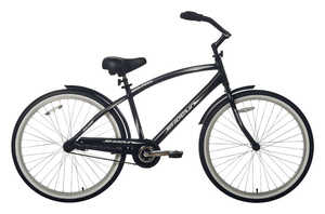 Kent  Men  26 in. Dia. Cruiser Bicycle  Black