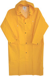 Boss  Yellow  PVC-Coated Rayon  Rain Jacket  S