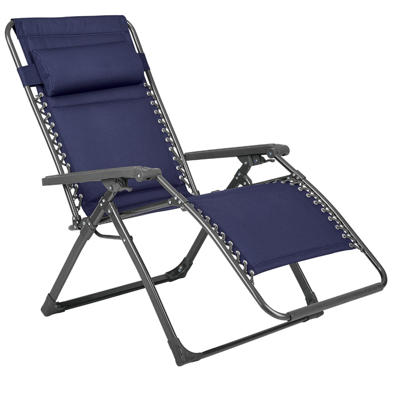 Living Accents  Aluminum  Relaxer Chair