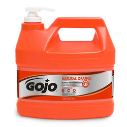 Gojo  Natural Orange Scent Pumice Hand Cleaner  1 gal.
