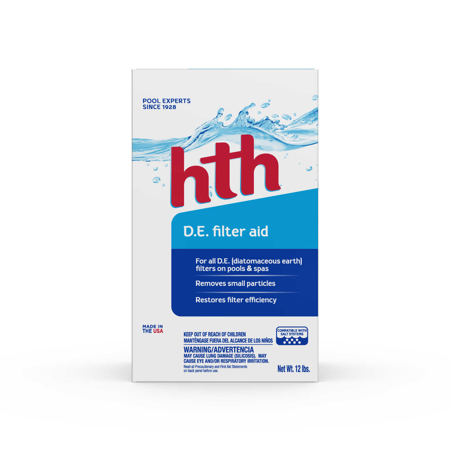 hth  Diatomaceous Earth Filter Aid  12 lb.