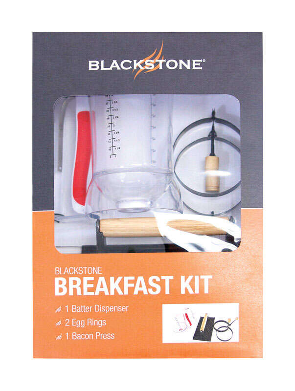 Blackstone  4 Piece  Stainless Steel  Bacon Press