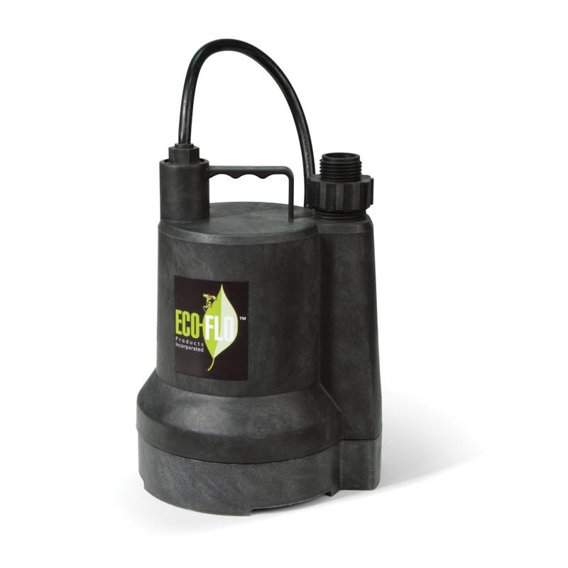 Ecoflo  Thermoplastic  Submersible Pump  1/6 hp 1680 gph 115 volt