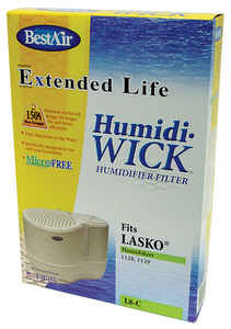 Best Air  Humidifier Wick  1 pk For Fits for Lasko natural cascade models 1128, 1129, 9930 THF8