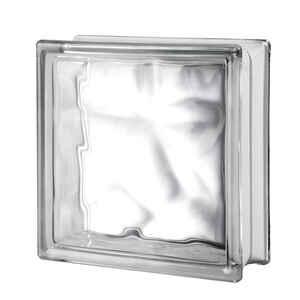 Seves  8 in. H x 8 in. W x 3 in. D Nubio  Glass Block