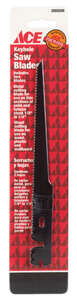 Great Neck  0 in. L Metal  Saw Blade  2 pk