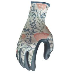 Digz M Nitrile Multicolored Gardening Gloves
