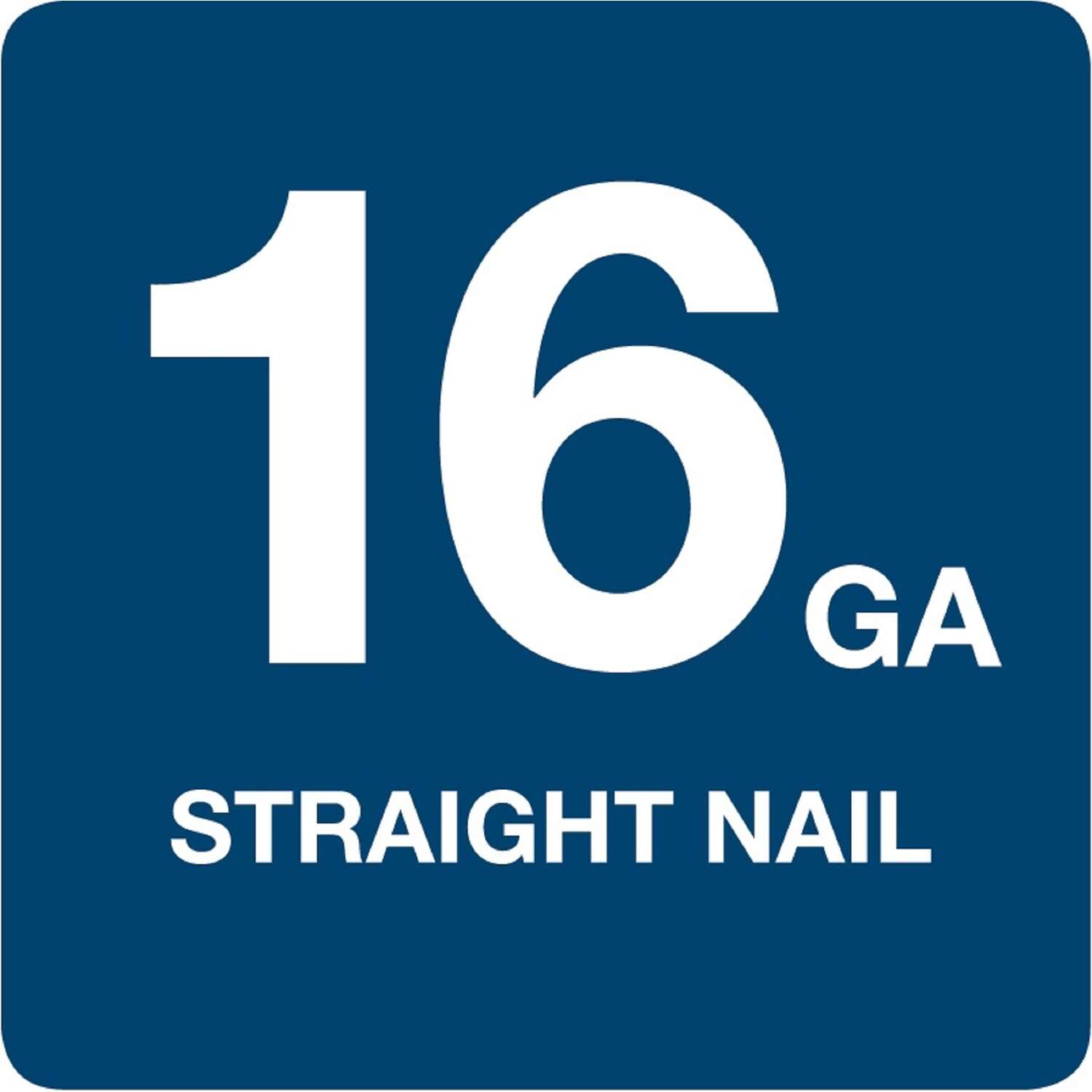 Grip-Rite  16 Ga. Smooth Shank  Straight Strip  Finish Nails  2 in. L x 0.06 in. Dia. 1000 count