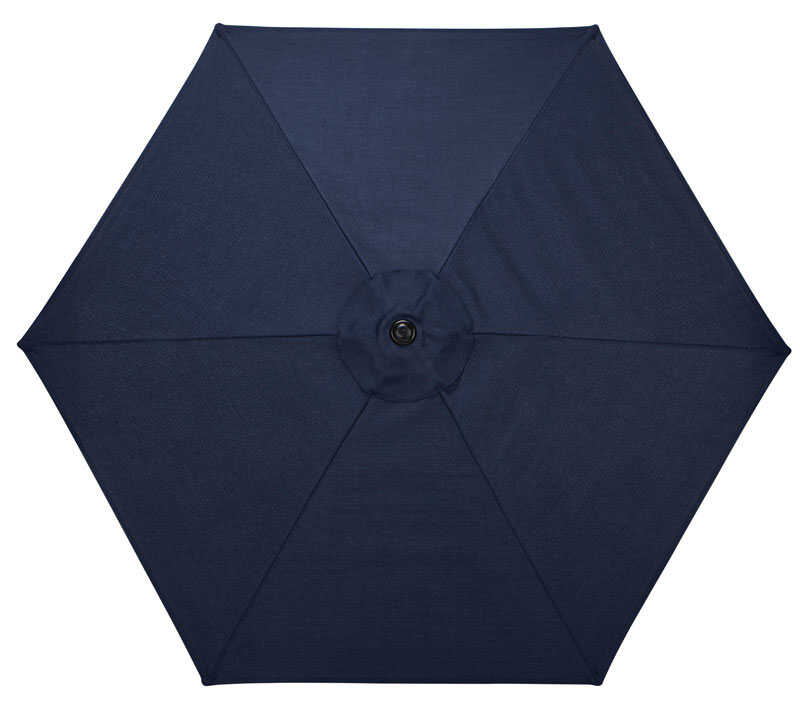 Living Accents  Regency  Umbrella  1 pc. Blue