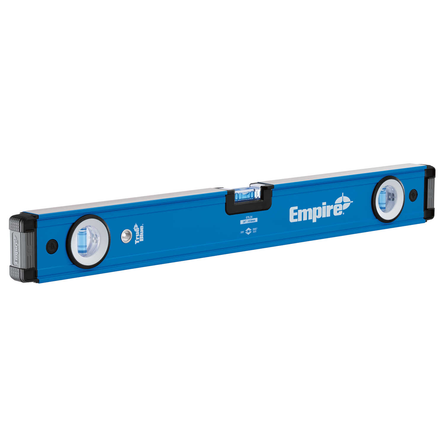 Empire  True Blue  24 in. Aluminum  Box  Level  3 vial