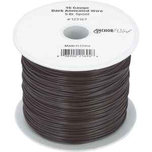 Hillman  50 ft. L Black Annealed  Steel  16 Ga. Mechanics Wire