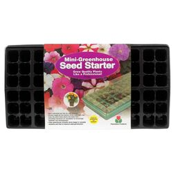 Plantation Products Seed Starter Mini Greenhouse 1 pk